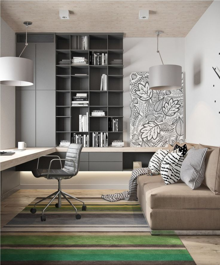 Beautiful Modern Home Office Home Offices Workspaces