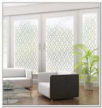 Sliding Glass Door Privacy Film
