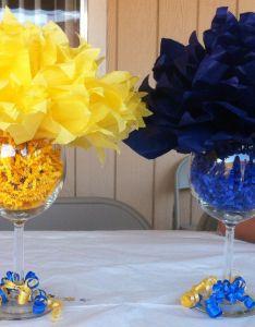 Blue And Gold Decorations For Party Valoblogi Com