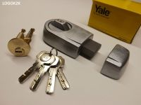 Yale front door lock deadbolt nightlatch rim cylinder ...