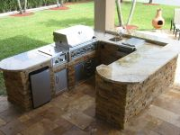 outdoor kitchens small outdoor kitchens and bbq island on ...