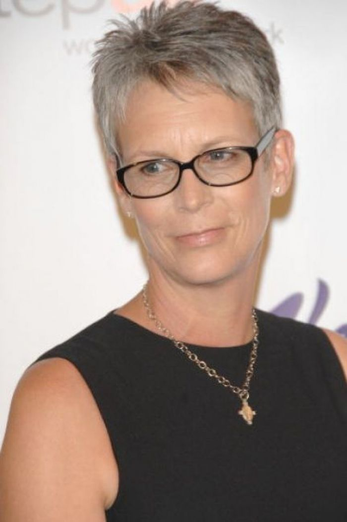 Short Hairstyles For Women Over 40 With Glasses Ideas Fine And