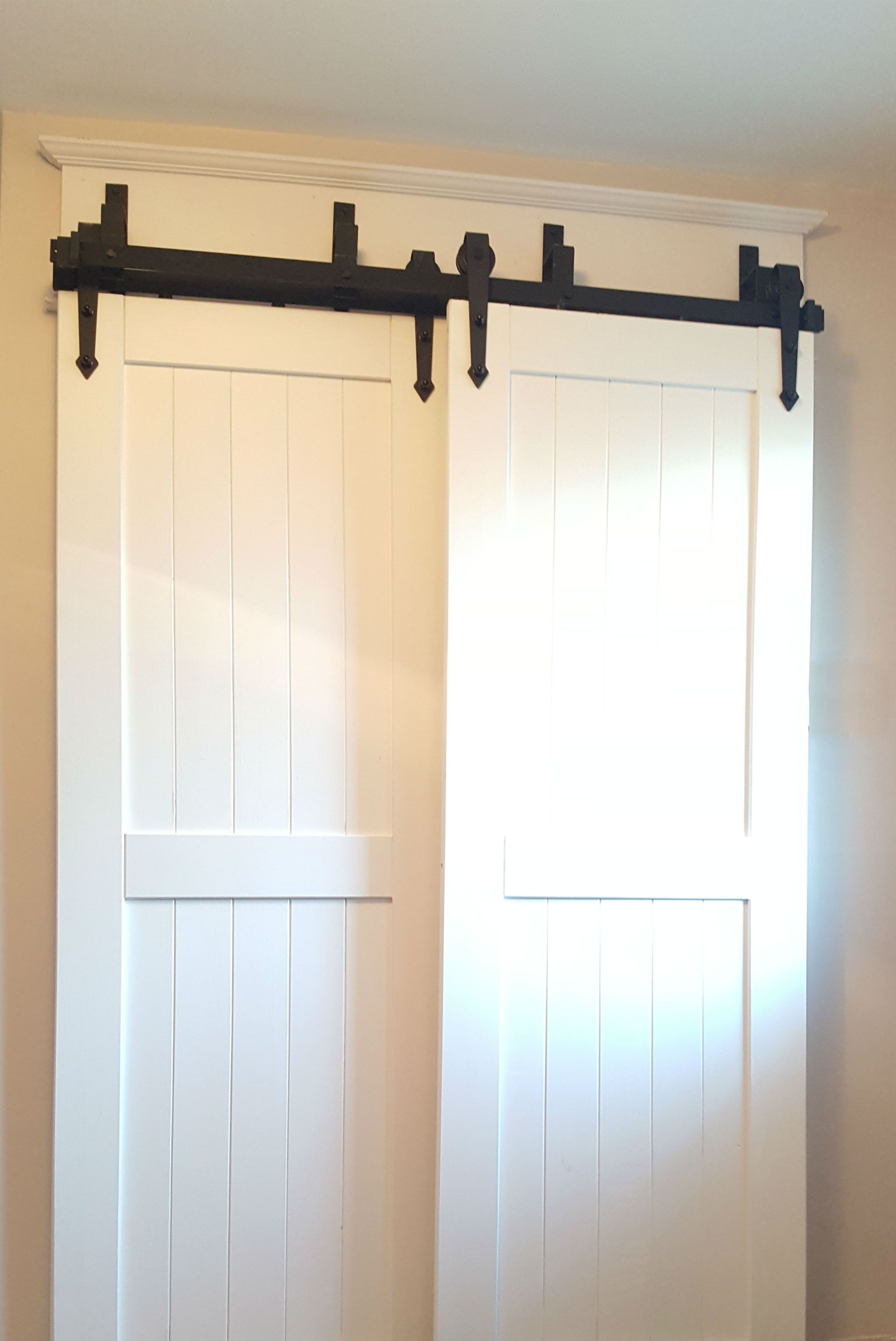 Bypass Barn Door Hardware Easy To Install Canada Hanging
