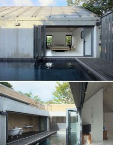 Privacy contrasts with startling openness in thai house also to live rh nz pinterest