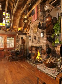 Historic Kitchen Renovation. Pegged Timber Framed Rafters