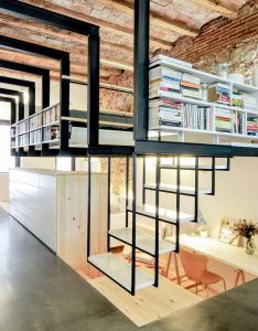 To maximize living space in  narrow structure barcelona carles enrich excavated the ground house interior also rh uk pinterest