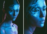 Studio Lighting Tutorial - Rim Lights & Color Gels | Blue ...