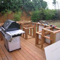 How To Make An Outdoor Kitchen Sideboard Build And Bbq Island