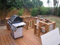 How to Build an Outdoor Kitchen and BBQ Island | Outdoor ...