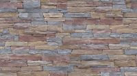 Stone Wall | Colourful Rough Stone Wall - Image and ...
