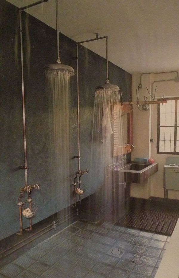 Double Head Shower Bathroom Design