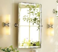 "Kensington Pivot Mirror | Pottery Barn - Dimensions - 23""W ..."