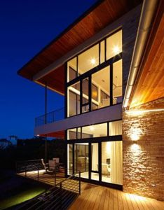 The lake travis residence near austin texas creative team of hsu office architecture was hired to design this house atop  sloping site off  also balconies home ideas pinterest rh