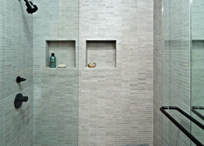 Shower bench for the homemodern bathroomsmaster also homey pinterest benches small showers and