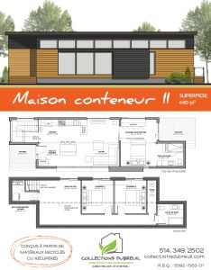 Container house la maison conteneur ii collection dubreuil who else wants simple step by plans to design and build  home from scratch also rh pinterest