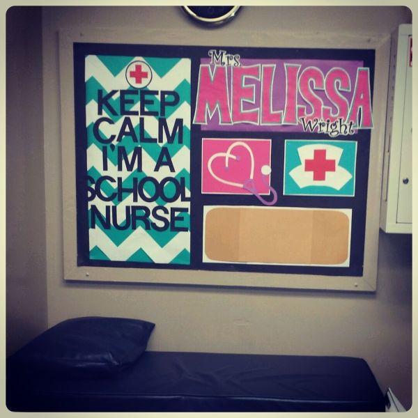 School Nurse Office Bulletin Board Ideas