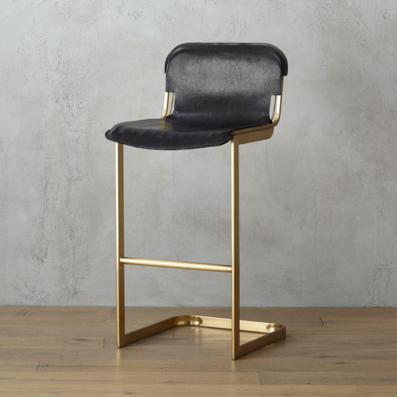 rake brass 30 bar stool  Modern bar stools