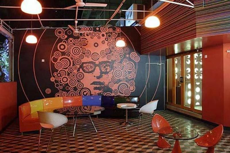 Planet 3 Studio For Cafe Design Ideas In Red Themes Cafe