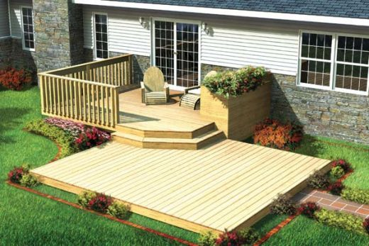 Small Deck Designs on Pinterest  Wood Deck Designs Small
