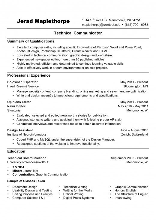 resume writing references available upon request