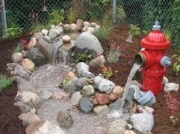 Fire hydrant waterfalls | ... Landscapes - Northern ...