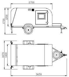 Mini trailer Traveller, Little Traveller, Cargo Traveller