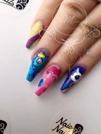 My Little Pony Nails by Kirsty Meakin | NAIO NAILS | All ...