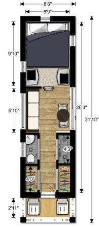 Good Ideas Re A Small Floorplan Appropriate For Two People