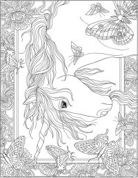 Welcome to Dover Publications; Creative Haven Unicorns ...