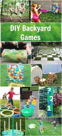 DIY Backyard Games   Field Day ideas   Pinterest   Summer ...