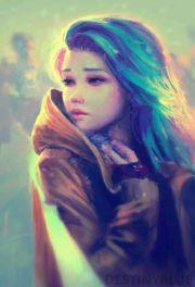 beauty anime art girl