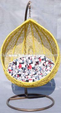 Outdoor Design, Outdoor Papasan Chair And Rattan Hanging ...