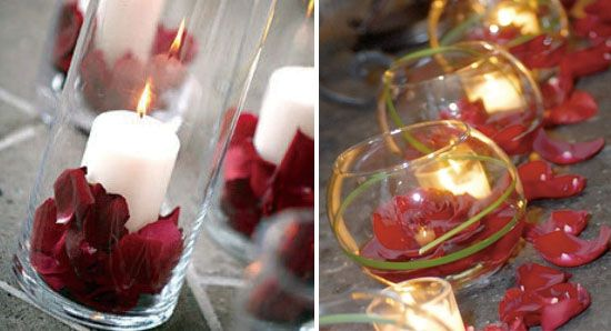 Kerzen Deko Hochzeit gartenparty deko und beleuchtung ideen f r feier am abend kerzendeko f r