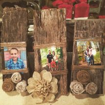 Hand Barn Wood Frames With 100 Year