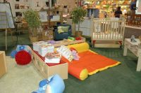 Daycare infant/toddler room decoration idea following ...