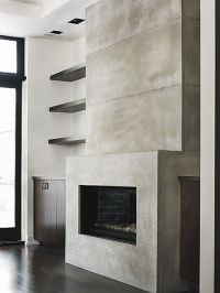 Modern Concrete - fireplaces, countertops, cladding ...