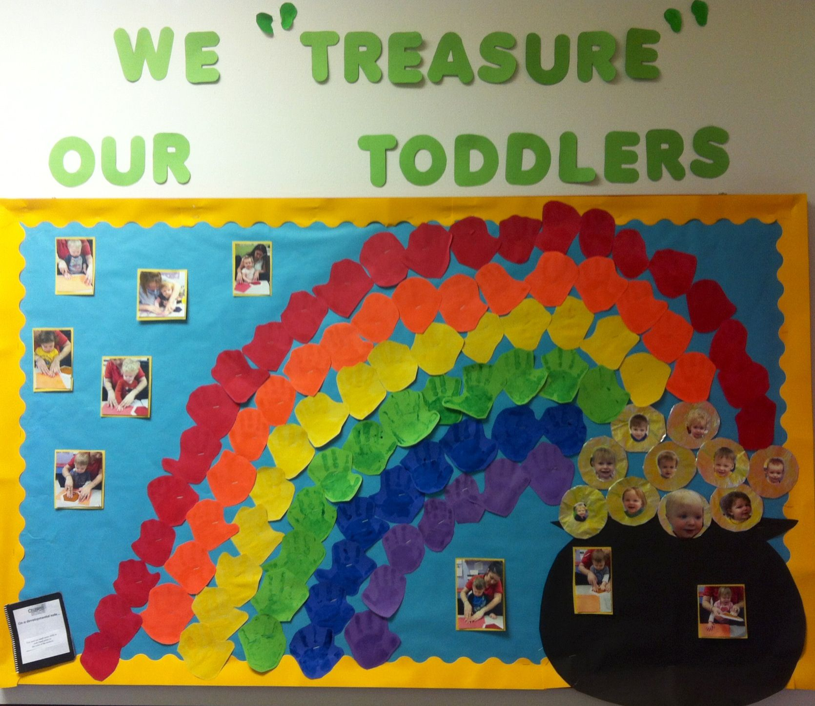 St Patrick S Day Bulletin Board We Treasure Our