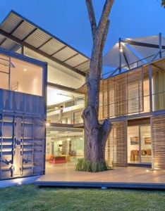 Sustainably designed shipping container home in costa rica also rh pinterest