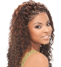 Micro Braids Hairstyles Wavy | Fade Haircut
