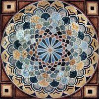 Geometric Marble Mosaic Stone Pattern   Mosaics ...