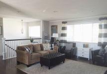 Split Level Home Living Room Ideas