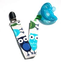 Soothie Pacifier Clip Owl Zoologie Gumdrop Nuk Mam by ...