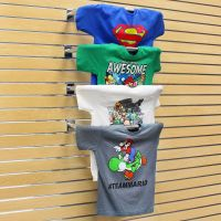 22 in. Chrome T Shirt Display for Slatwall | Specialty ...