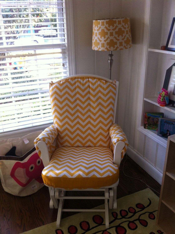 glider rocking chair cushion pattern dillon 1 2 custom made nursery or home rocker