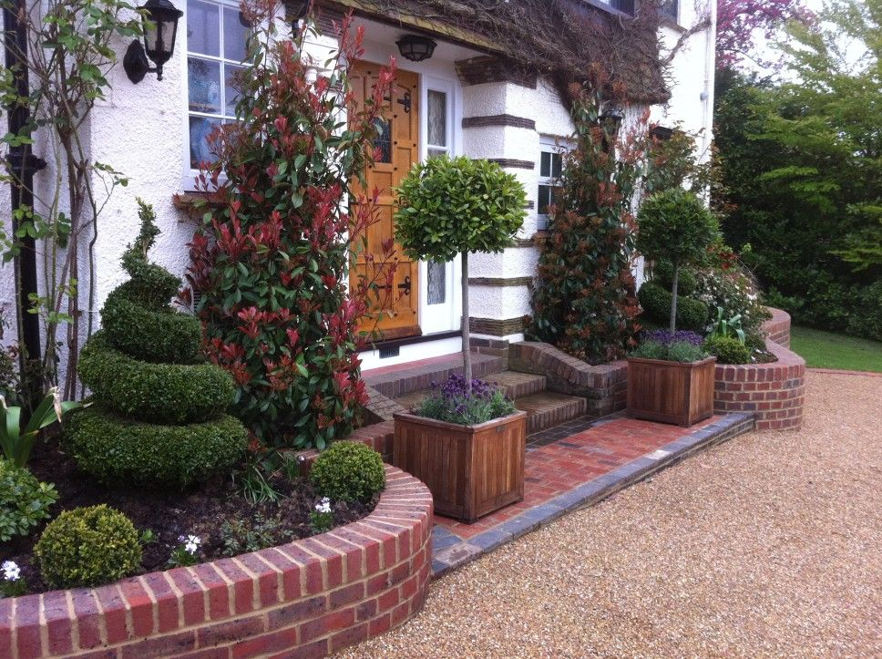 Decoration Adorable Front Gardens Designs Engaging Front Garden