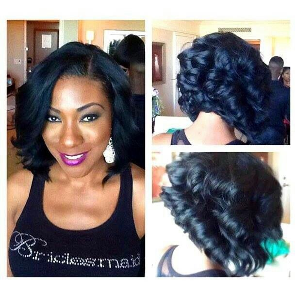 Updo Hairstyles I Relaxed Hairstyle I Long Hair I Black Women