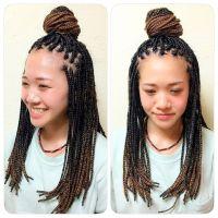 Large Box Braids Hairstyles