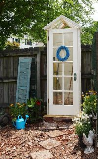 7 Ways to Upscale Upcycled French Doors | Doors, Gardens ...
