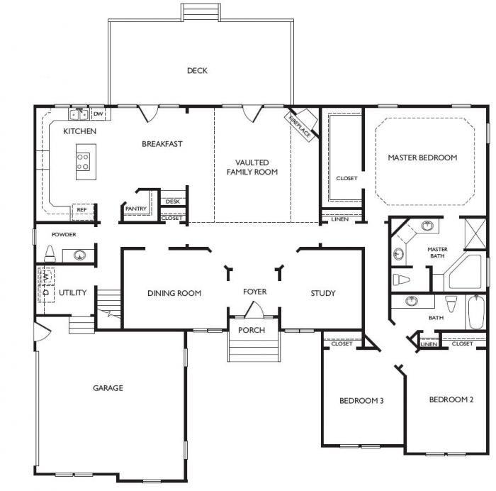 My next home in Virginia Beach??? Unique Open Floor Plans