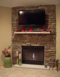corner stone fireplace designs | Stone Fireplace Ideas ...